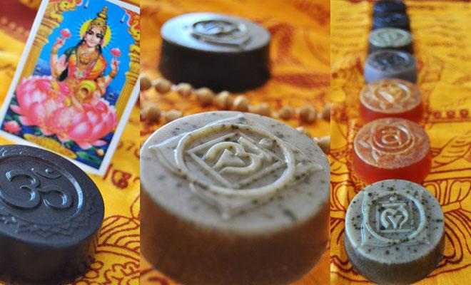 Jabones-chakras, cosmética ayurveda de PasioNatura