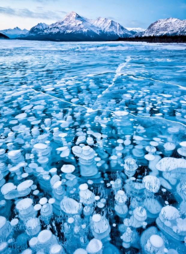 Lago Abraham, Alberta, Canadá